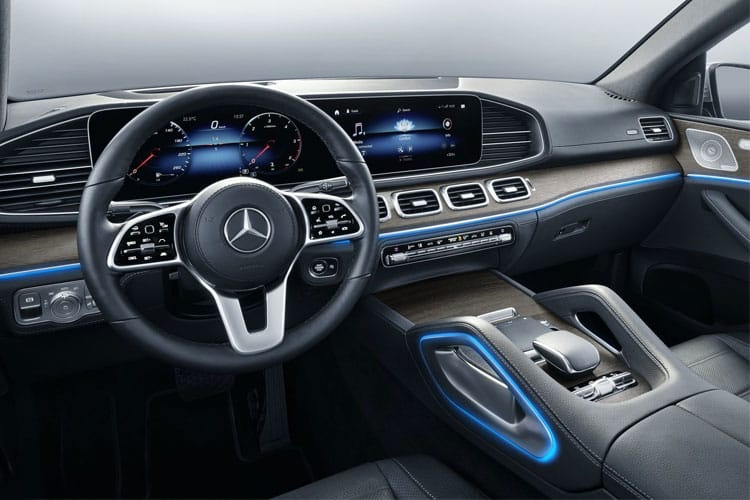 Mercedes-Benz GLE GLE400 Coupe 4MATIC 3.0 d 330PS AMG Line Premium Plus 5Dr G-Tronic [Start Stop] inside view