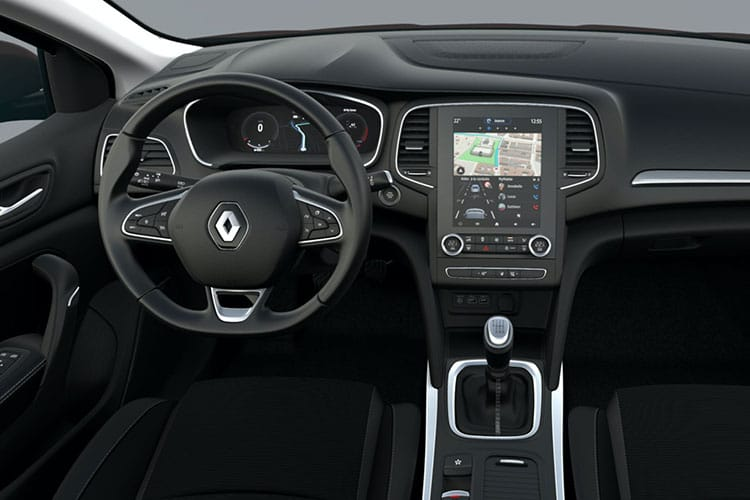 Renault Megane Hatch 5Dr 1.5 Blue dCi 115PS Iconic 5Dr EDC [Start Stop] inside view
