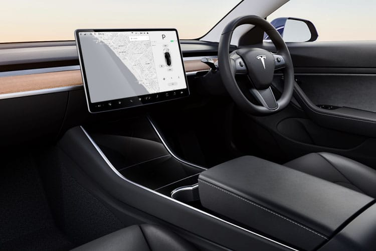 Tesla Model 3 4Dr Dual Motor Elec 258KW 346PS Long Range 4Dr Auto inside view