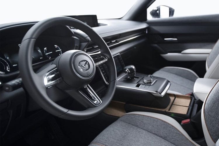 Mazda MX-30 SUV Elec 35.5kWh 107KW 145PS GT Sport Tech 5Dr Auto inside view