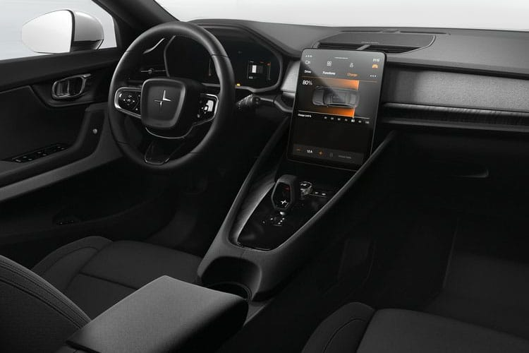 Polestar Polestar 2 Fastback 5Dr Dual Motor Elec 78kWh 300KW 408PS  5Dr Auto inside view