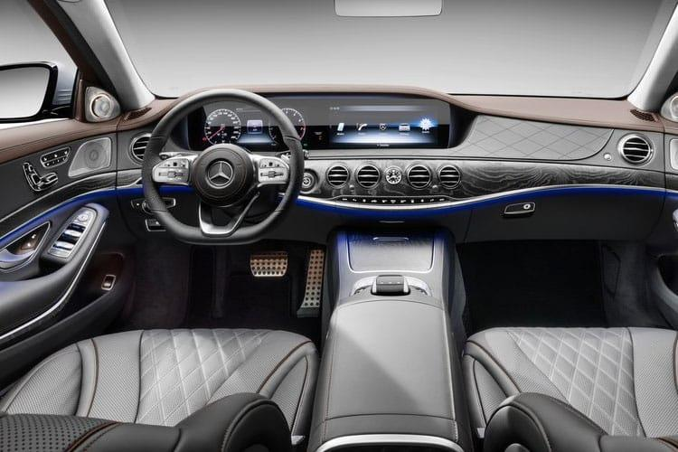 Mercedes-Benz S Class S400L Saloon 4MATIC 3.0 d 330PS AMG Line Premium Executive 4Dr G-Tronic+ [Start Stop] inside view