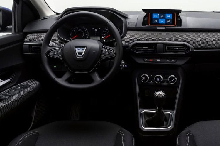 Dacia Sandero Hatch 5Dr 1.0 TCe Bi-Fuel 100PS Comfort 5Dr Manual [Start Stop] inside view