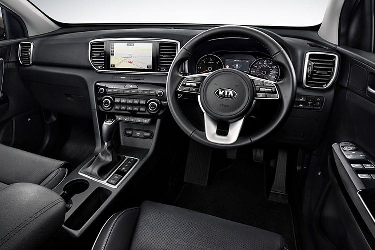 Kia Sportage SUV AWD 1.6 T-GDI 174PS GT Line 5Dr DCT [Start Stop] inside view