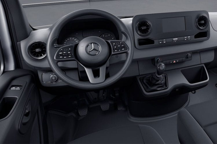 Mercedes-Benz Sprinter 316 L3 3.5t AWD 2.1 CDi 4WD 163PS  Dropside Manual inside view