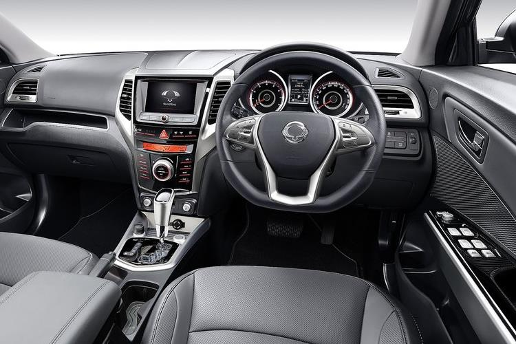 Ssangyong Tivoli SUV 5Dr 1.6 D 115PS LE 5Dr Manual inside view